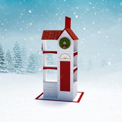 Kersthuis Display