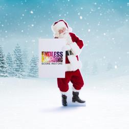 Kerstman Standee