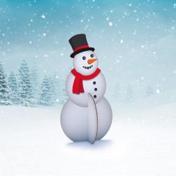Sneeuwpop Standee