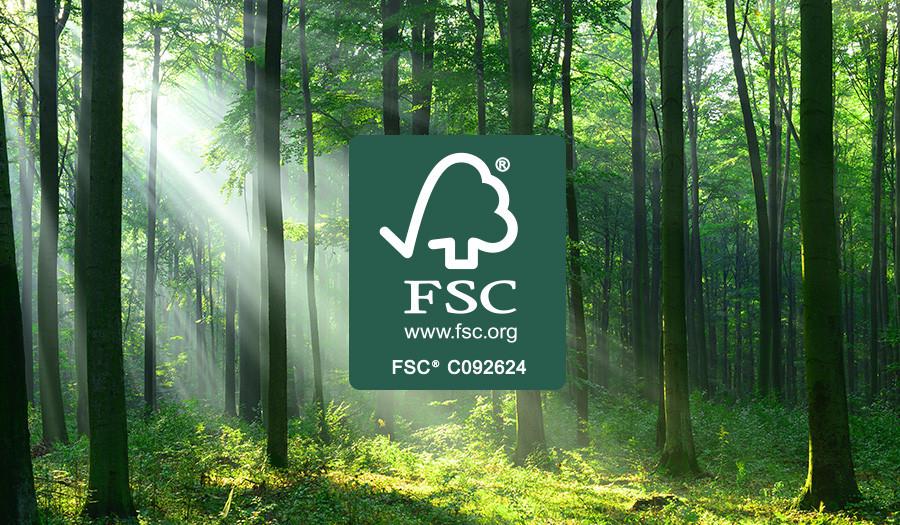 Wij zijn FSC® gecertificeerd