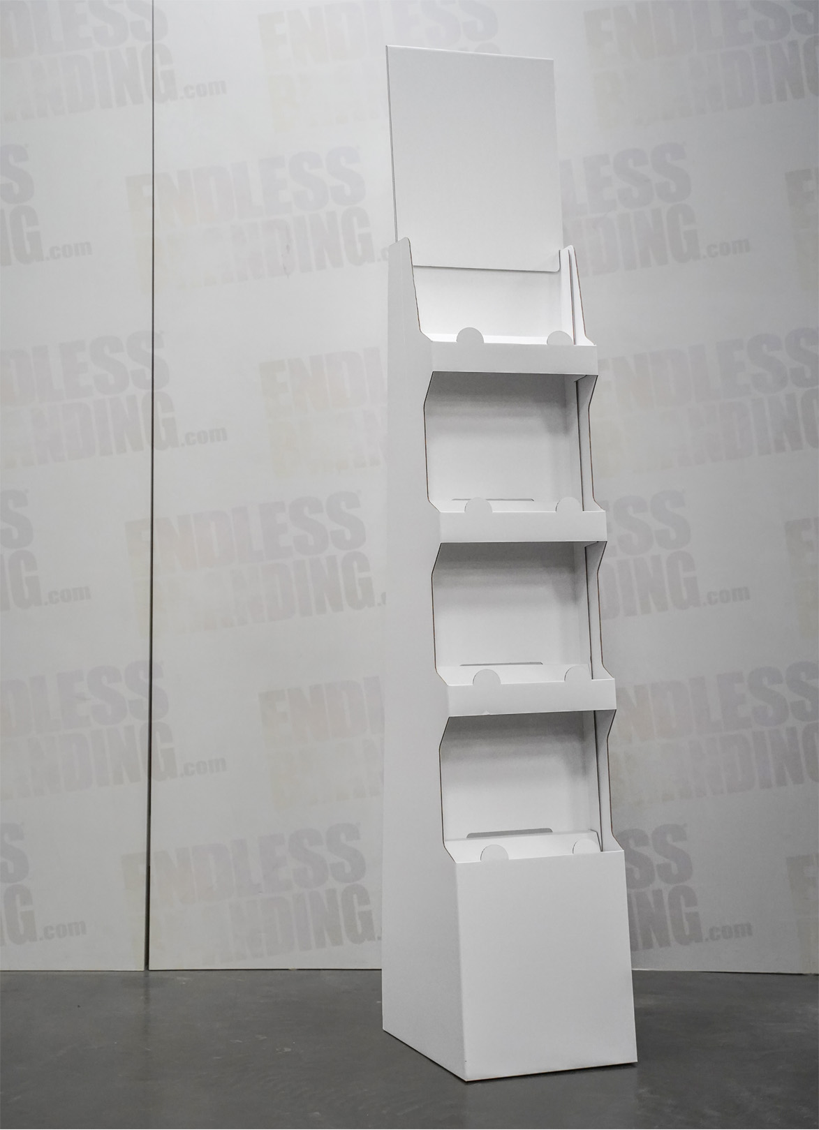 Kartonnen display
